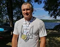 Тернопільський веслувальник Владислав Юзюк став тричі чемпіоном світу серед ветеранів