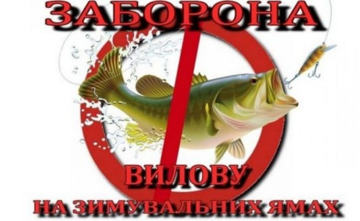 На Тернопільщині з 1 листопада забороняється рибалити на зимувальних ямах