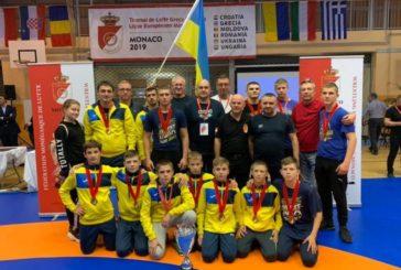 Тернополяни - бронзові призери Європейської Ліги з греко-римської боротьби серед юнаків до 15-років