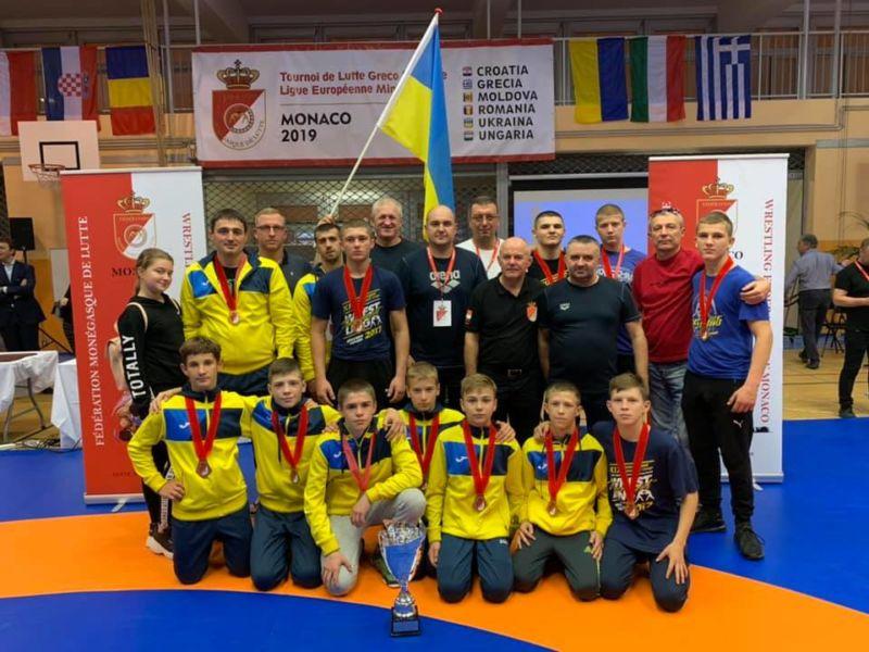 Тернополяни – бронзові призери Європейської Ліги з греко-римської боротьби серед юнаків до 15-років