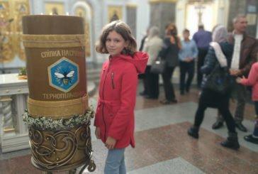 Пасічники Тернопільщини виготовили найбільшу в Україні свічку (ФОТО)