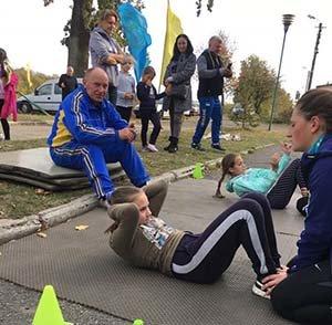 У Підгородньому на Тернопільщині відбулася першість з літнього біатлону