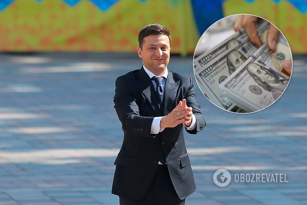 Зеленський задекларував дохід майже у мільйон гривень