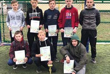 На Тернопільщині відбулась першість Теребовлянської міської ОТГ з міні-футболу