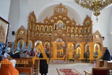 У храмі великомученика Димитрія на Тернопільщині, який спорудили 115 років тому, освятили унікальний дерев'яний іконостас (ФОТО)