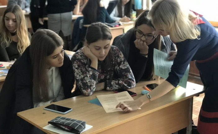 У ТНЕУ провели бізнес-гру для старшокласників «Я – майбутній фінансовий менеджер» (ФОТО)