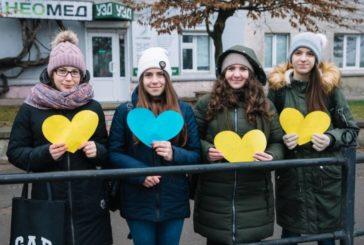 Студенти ТНЕУ вітали тернопільських військових, які повернулися додому (ФОТО)