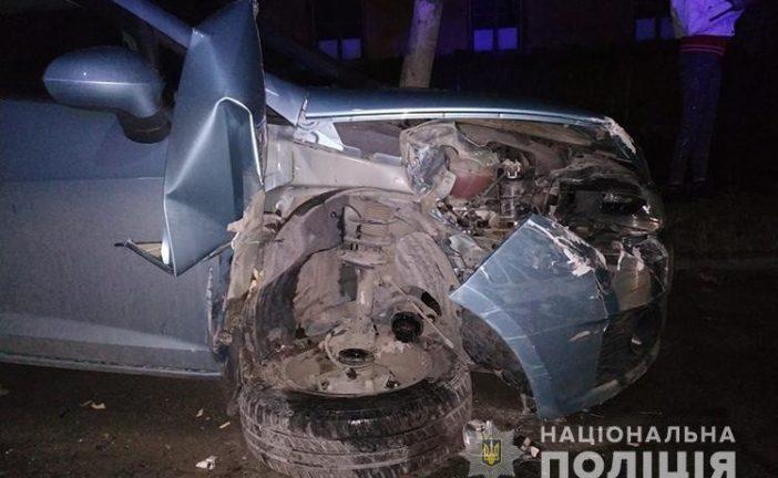 На Тернопільщині п'яний водій розбив три автомобілі (ФОТО)