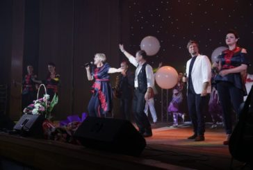 Народна артистка України Оксана Пекун подарувала тернополянам справжнє пісенне свято