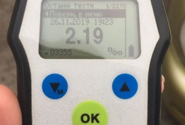 Бережанські поліцейські зупинили водія, вміст алкоголю в крові якого перевищував норму в декілька разів