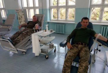 Тернопільські військові підтримали всеукраїнську акцію «Брати по крові» (ФОТО)