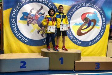 Золоту та срібну медалі отримали юні тернопільські борці на Всеукраїнському турнірі в Черкасах