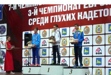 Спортсмен з Тернопільщини Віктор Блоха - бронзовий призер чемпіонату Європи з вільної та греко-римської боротьби