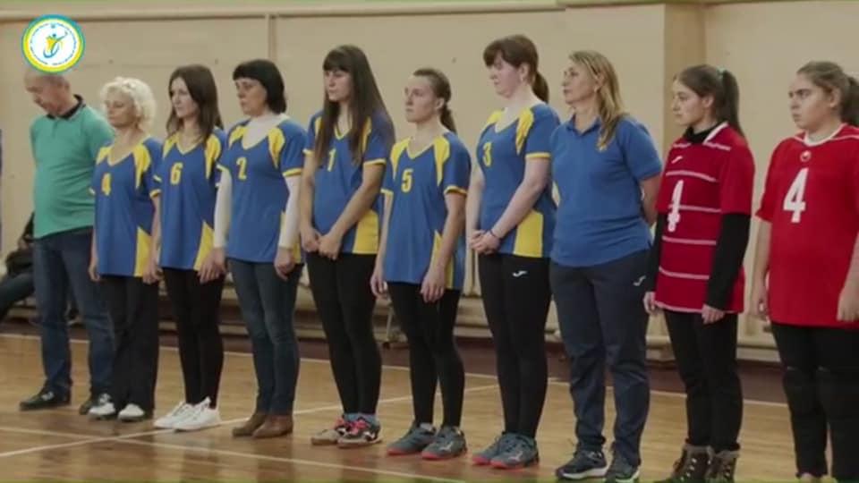 Жіноча команда Тернопільської області з голболу стала срібним призером чемпіонату України серед спортсменів з порушеннями зору