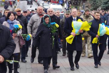 На Тернопільщині вшанували Героїв Небесної Сотні та відзначили шосту річницю початку Євромайдану (ФОТО)