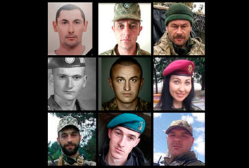 Пам'ятаємо: імена і фото усіх воїнів, які загинули у жовтні на Донбасі