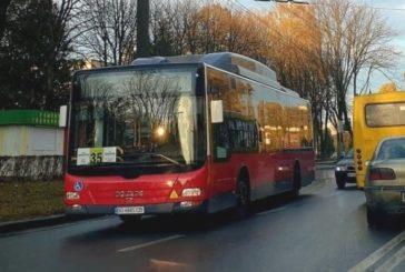 У Тернополі на маршрут №35 додано ще два комунальних низькопідлогових автобуси