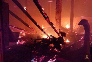Масштабна пожежа на Тернопільщині: у Бучачі горів склад площею 500 кв м (ФОТО)