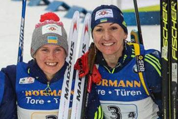 Тернополянки Анастасія Меркушина та Олена Підгрушна провели спринтерську гонку в норвезькому Шушені