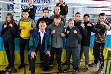 Тернопільські кікбоксери взяли участь у кількох всеукраїнських змаганнях у Києві