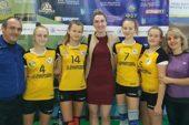 Після першого туру чемпіонату України з волейболу серед 13-річних дівчат команда Тернопіль-ДЮСШ-ТНЕУ на першому місці
