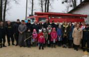 На Зборівщині заступила на чергування новостворена місцева пожежна команда (ФОТО)