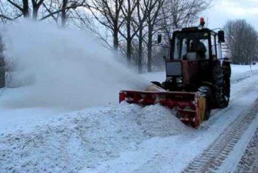 У Тернополі пішов сніг: оголошується «зелений рівень» системи оповіщення