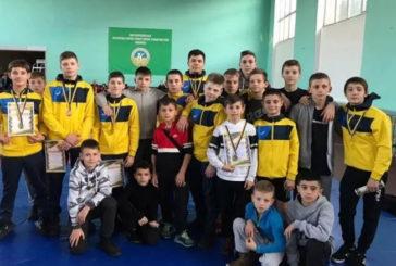 Тернопільські борці греко-римського стилю здобули шість медалей на міжнародному турнірі