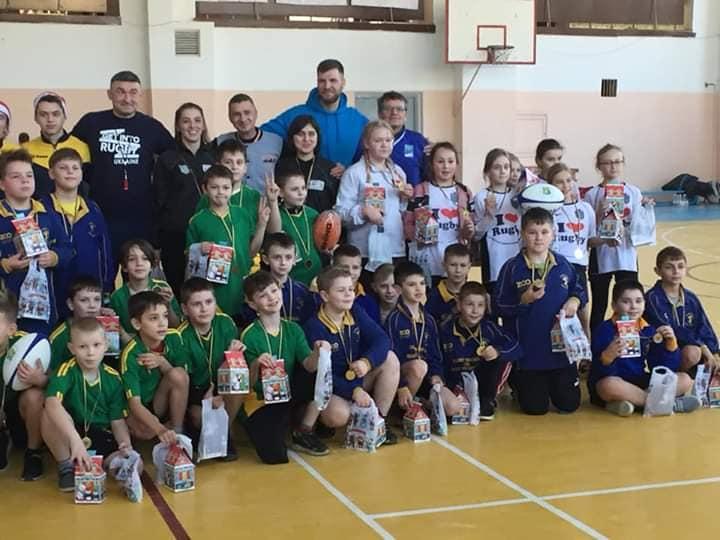 Юні регбісти з Кременця вибороли перемогу на змаганнях у Львові (ФОТО)