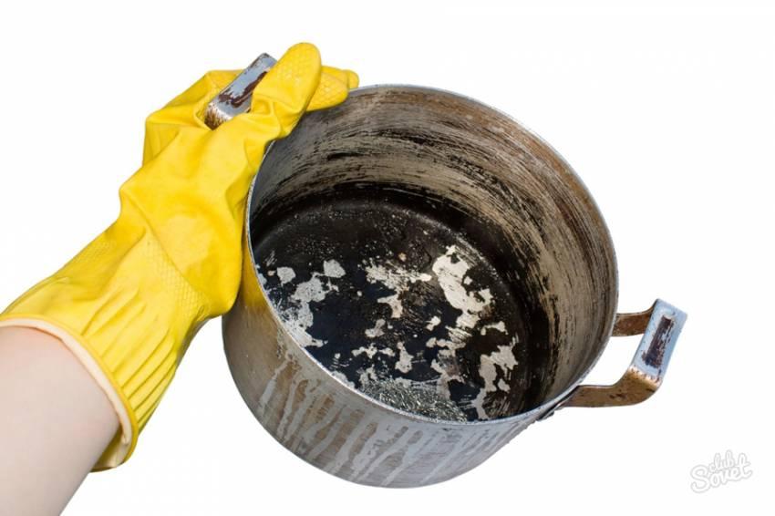 Як відмити пригорілу каструлю: корисні поради