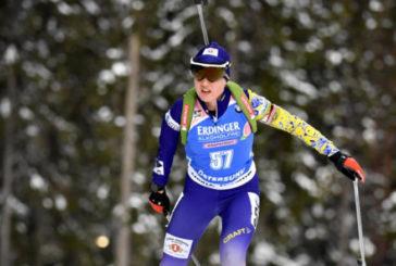 Тернополянка Анастасія Меркушина виборола бронзу у спринті на Кубку IBU