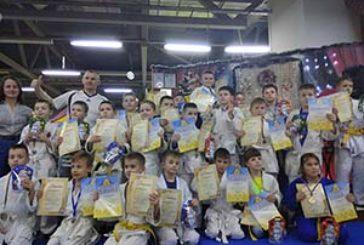 Наймолодші дзюдоїсти Тернополя змагались на передноворічному турнірі