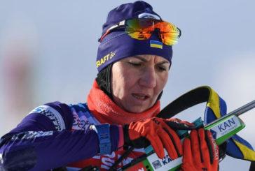 Тернополянка Олена Підгрушна у ТОП-10 в спринті на Кубку світу