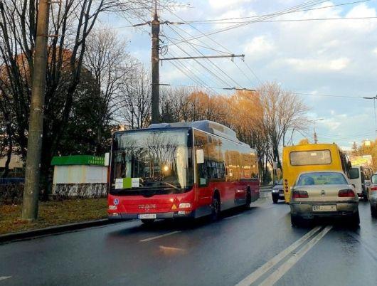 У Тернополі в маршрут №31 внесено зміни: він курсуватиме від Березовиці через Карпенка до лікарні №3