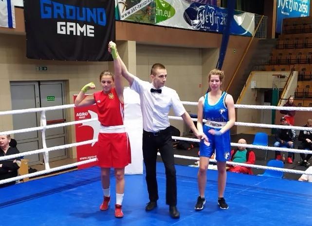 Тернополянка Каріна Вовк – срібна призерка міжнародного турніру з боксу у Польщі