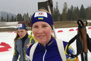 14-річна тернопільська біатлоністка Олександра Меркушина стала наймолодшою чемпіонкою України серед дорослих спортсменів