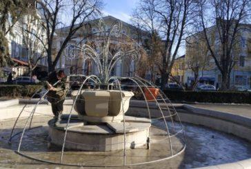 У Тернополі водограї на бульварі Тараса Шевченка прикрасять ілюмінацією (ФОТО)
