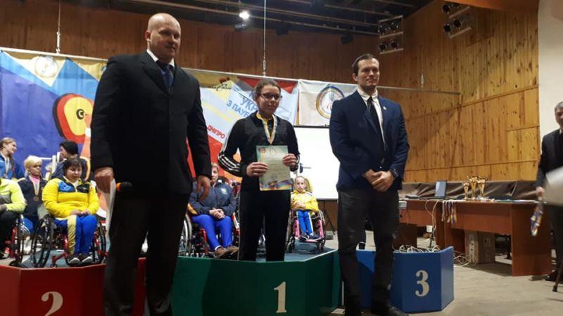 Представниця Тернопільського «Інваспорту» Катерина Кухарчук виборола золоту нагороду на Кубку України з пауерліфтингу
