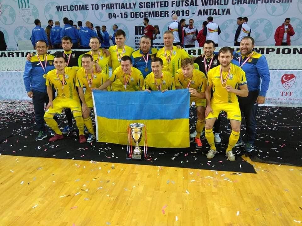 Представник Тернопільського «Інваспорту» Богдан Бадло – чемпіон світу з футзалу