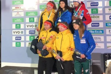 Кременчанка Юліана Туницька – переможниця етапу Кубку світу серед юнаків із санного спорту