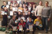 У Збаразькій РК ДЮСШ провели передноворічну відкриту першість з гирьового спорту (ФОТО)