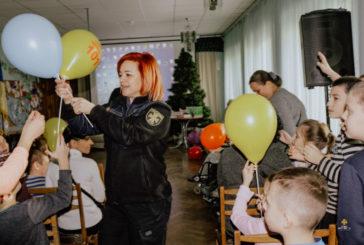 Напередодні дня Святого Миколая тернопільські рятувальники завітали до дітей з особливими потребами (ФОТО)