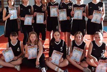 Дівчата з команди «ДЮСШ» Тернопіль посіли третє місце на турнірі з баскетболу