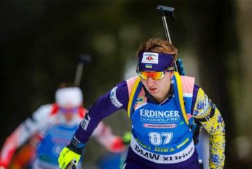 Тернополянка Олена Підгрушна – срібна призерка жіночого спринту Кубка IBU