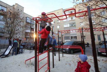 Цього року у тернопільських дворах встановили 65 дитячих майданчиків