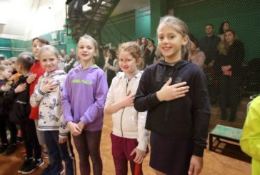 Юні гравці із Західної України змагалися у тенісному турнірі в Тернополі (ФОТО)