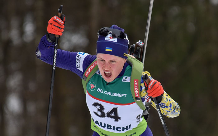 Тернополянки Анастасія Меркушина та Олена Підгрушна проведуть сьогодні естафетну гонку на Кубка світу