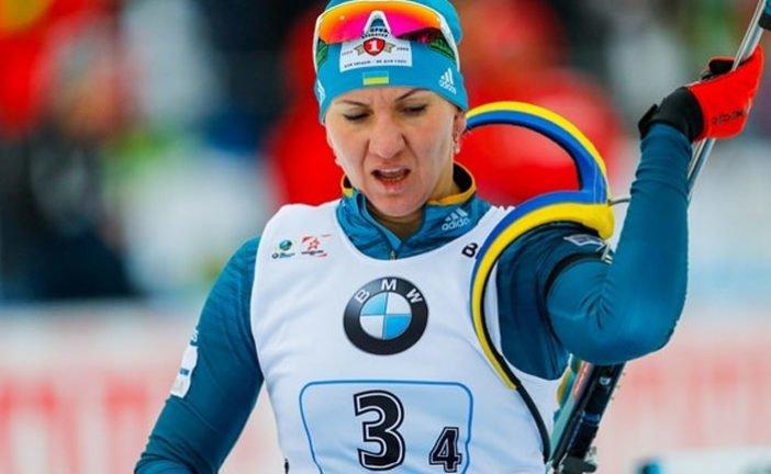 Тернополянка Олена Підгрушна провела спринтерську гонку у німецькому Рупольдингу