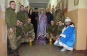 Як військовослужбовців на Тернопільщині вітали з Новим роком (ФОТО)