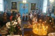Уперше в храмі села Кордишів на Шумщині засяяв Вифлеємський вогонь (ФОТО)